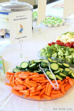 Storybook Baby Shower.  This would be cute for a kid's birthday too!