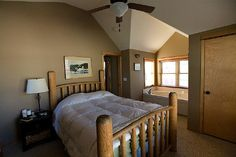 hunter green bedroom - Google Search
