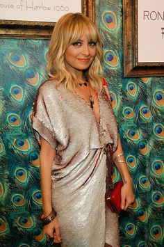 Nicole Richie - Her Bangs are perfection.