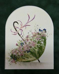 「2作品」記事の画像 Dried And Pressed Flowers, Pressed Flower Art, Dried Flowers, Flower Art Images, Fleurs Diy, Plant Painting, Color Pencil Art, How To Preserve Flowers, Arte Floral
