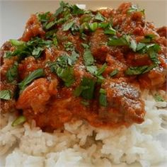 Kashmiri Lamb recipe. This recipe has great reviews, worth a try!