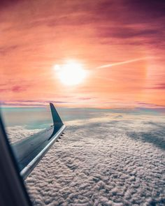 Above the clouds!