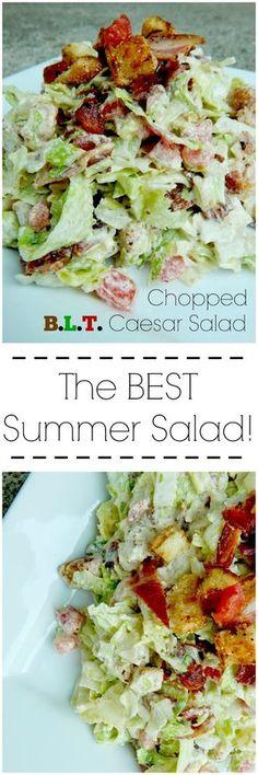 chopped B.L.T. caesar salad (sweetandsavoryfood.com)