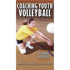 Human Kinetics Coaching Youth Volleyball-4th Edition at Volleyball.Com