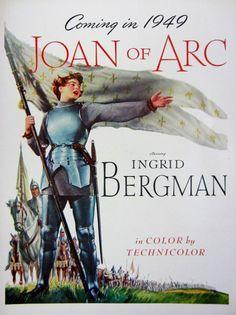 1948 Joan of Ark Ingrid Bergman Vintage Movie by RelicEclectic