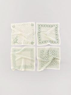 linen bandanas from Art & Science