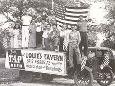 Louie's Tavern was at 8719 Ferris, Morton Grove, Illinois Morton Grove, Museum Education, Forest Preserve, Grove Park, Chicago Area, Vintage Advertisements, Illinois, Pet Adoption, Labrador Retriever