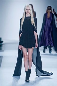Ann Demeulemeester wiosna-lato 2013 / fot. Imaxtree