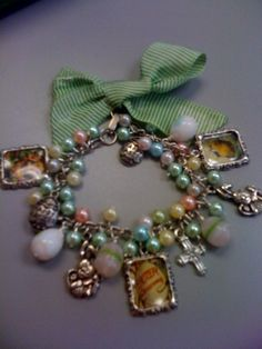 Easter Cha Cha Charm Bracelet