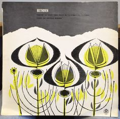 YEHUDI & HEPZIBAH MENUHIN beethoven violin kreutzer & spring LP Mint- PZ 507