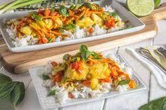 Easy Thai: Coconut Curry White Fish - The Scrumptious Pumpkin