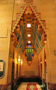 Guardian Building, Detroit, Michigan  Lobby takes your breath away.