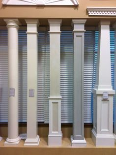 We have a wide variety of columns and column wraps available.