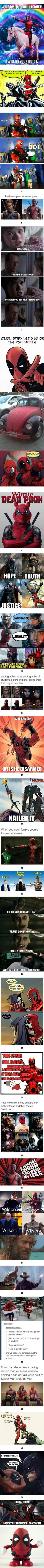 26 DEADPOOL Memes That Will Leave You Bloody and Breathless<<<<<so funny, pinned it twice Marvel Comics, Marvel Funny, Marvel Memes, Funny Comics, Marvel Avengers, Dc Memes, Funny Memes, Hilarious, Univers Dc