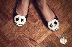 Halloween Skeleton Flats