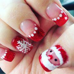 11 Easy Nail Art Designs 2018 For Short & Long Nails Different Nail Designs, Simple Nail Art Designs, Easy Nail Art, Christmas Nail Art, Holiday Nails, 4th Of July Nails, Hand Art, Red Nails, Nail Arts