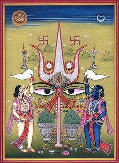 Shakti & Shiva – Culto del Tridente