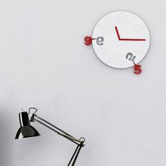 Timewarp clock. pull out any numbers you want.