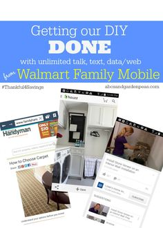 Get unlimited talk, text and data/web just in time for the holidays with Walmart Family Mobile lowest priced unlimited plans. #ad #Thankful4Savings