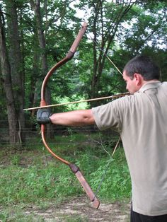36lb Mongolian Horse Bow and String by WoodallsVineyard on Etsy, $159.00