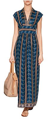 Ombre Stripe Maxi Dress in Indigo Multi by ANNA SUI | Luxury fashion online | http://www.stylebop.com/product_details.php?menu1=designer&menu2=&menu3=1361&id=468111