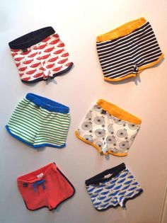 Cute Graphic prints for boys swim shorts from L'asticot for summer 2013