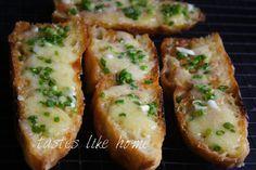 Cheesy Herby Toasts Recipe!