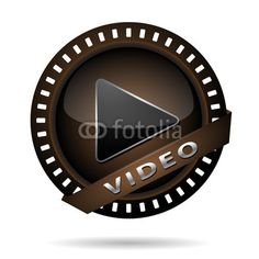 Vektor: video play