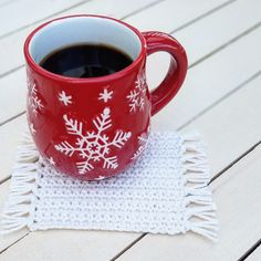 The Mug Rug Pattern by Carpe Lana – Kimmie's Crochet