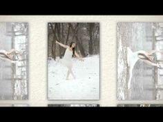 Corlee Graphics Photography - Gastby Girl En Pointe winter wonderland photo shoot