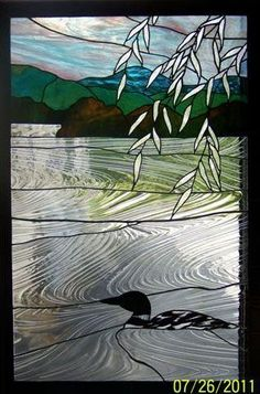 Stained Glass Shack Conway New Hampshire. Rosemarie Ferry.. Artist Custom Designed And Repair - Stained Glass Classes And Open Labs #StainedGlassPanels