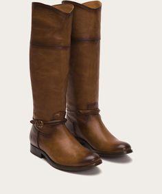 Frye - Melissa Seam Tall, Cognac, size 9.5/10