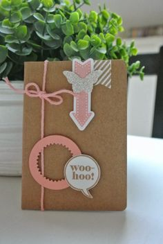 Cards and Scrapping Starburst framelits, Banner Blast Stampin Up