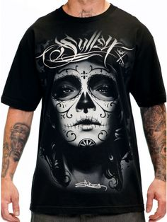 """Men's """"My Love"""" Tee by Sullen Clothing (Black)"""