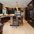 Bar area, Buffet, Wine ..Versatile - Mediterranean - Kitchen - new york - by KraftMaster Renovations