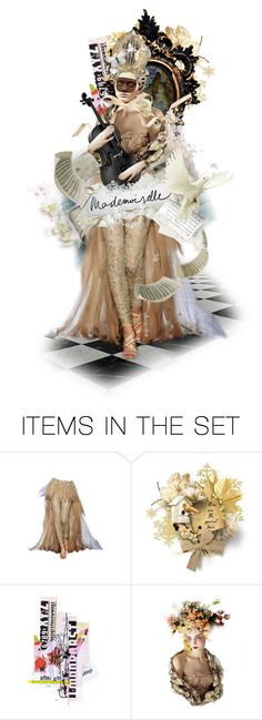 """""""Mademoiselle Charlotte ☆"""" by ultracake ❤ liked on Polyvore featuring art, dolls and ultracake"""