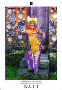 INDONESIA (Lesser Sunda) - Barong Dance (2) - part of Three genres of traditional dance in Bali (UNESCO ICH)