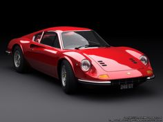 How can you describe this car! Ferrari Dino 246 GT