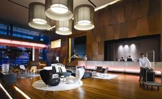 Interior Design of Five Star Hotel Lobby