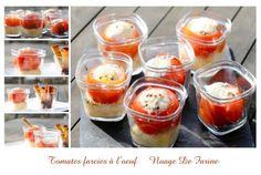 Tomates farcies à l'oeuf Multi-Délices | Nuage De Farine