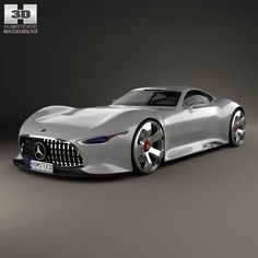 Mercedes-Benz AMG Vision Gran Turismo 2013 3d model from humster3d.com. Price: $75