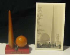 1939 Worlds World's Fair Pencil Sharpener Bakelite Perisphere Art Deco New York