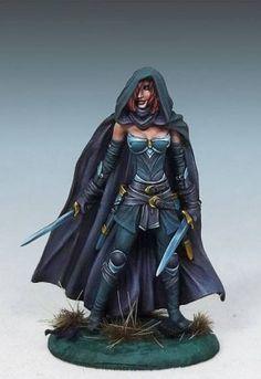 Female Assassin from Dark Sword