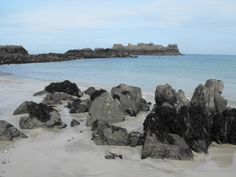 Saye Beach, Alderney. Guernsey, White Horses, Beaches, Islands, The Good Place, Amazing, Water, Outdoor, Gripe Water
