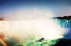 Oh Canada! Niagara Falls...Everyone should go there once - wonderful trip