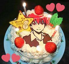 Classroom Birthday, 15th Birthday, Birthday Cake, Anime Cake, Merry Xmas, Amazing Cakes, Sweet Treats, Yummy Food, Sweets