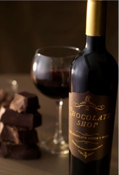 Fine chocolates & Fine Wine, what a Fine Night it will be ;-) Hehe LOL ^~^