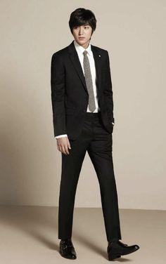 Lee Min Ho, have to add it, he's in a suit, it's the rule...