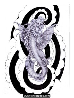 Koi Dragon Tattoo_10.jpg (525×700)