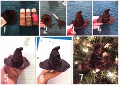 Easy As DIY: Harry Potter DIY Sorting Hat Ornament